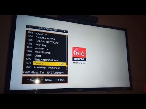 واخيرا اليكم ترددات قناة Télé Maroc الرسمية على كل الاقمار بجودة Sd و Hd
