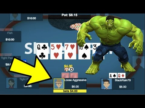 Use This ADVANCED Poker Strategy To CRUSH The Regs
