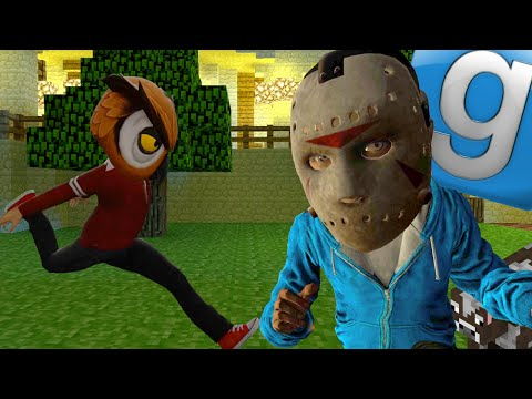 Garry's Mod Hide & Seek Fun - Funny Running and Rolling Animations(Gmod Funny Moments)