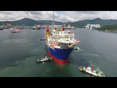 Ichthys Venturer Sail Away