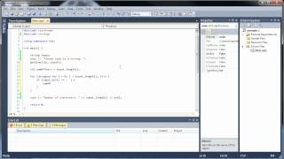 C++ Project 1 - Character Counting