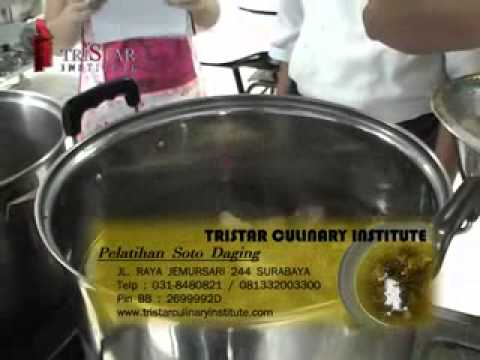 cara membuat soto daging di tristar culinary institute.flv Travel Video