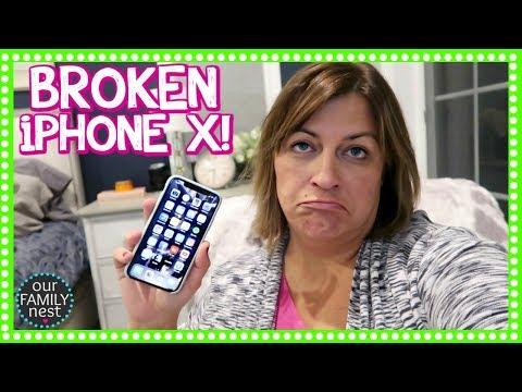 MY iPHONE X IS BROKEN ALREADY!