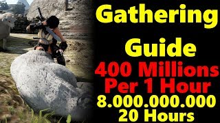 400 Millions Per Hour? Gathering Guide :Black Desert Online