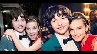 Millie Bobby Brown and Finn Wolfhard cute @ SAG Awards