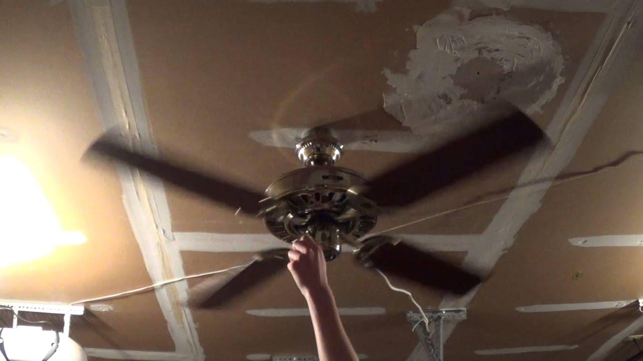 48 Quot Hunter Summer Breeze Ceiling Fan 1 Of 2 Youtube