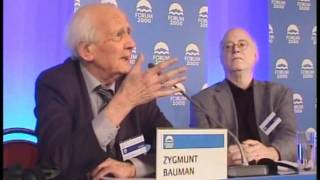 Zygmunt Bauman: The World We Live In | 2010 Forum 2000