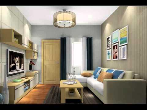 Desain Ruang Tamu Sempit Minimalis Interior Errina Gd