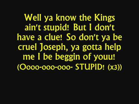 Joseph & TATD - Song of the King Lyrics