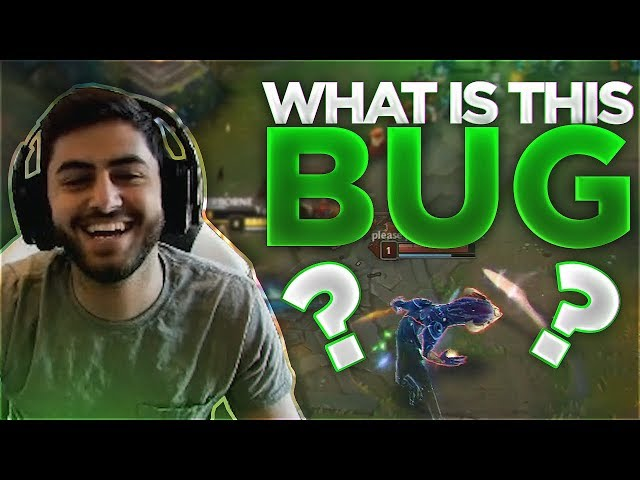 Yassuo | RIOT HELLO?!? WHAT IS THIS BUG?!?