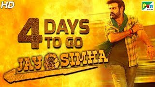 Jay Simha | 4 Days To Go | New Action Hindi Dubbed Movie | Nandamuri Balakrishna, Nayanthara