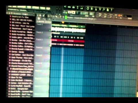 how to chop a sample in fl studio 10 - YouTube