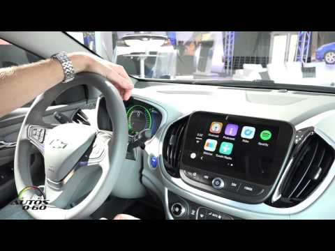2016 Chevrolet Volt Connected Services and Apple Car Play Demonstration
