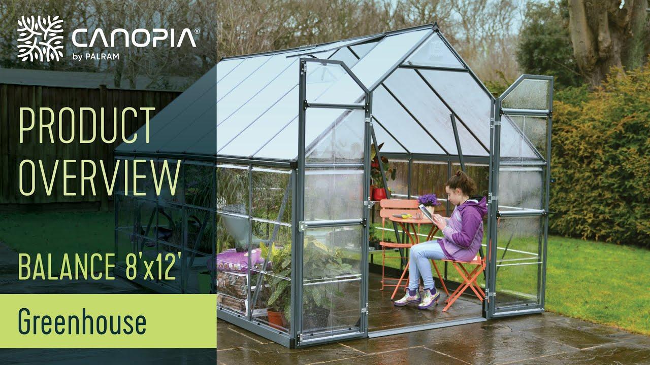 Greenhouse Balance™ 8x12 by Palram Applications