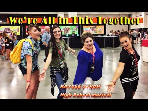 Kaycee Stroh Teaches us High school musical Dance
