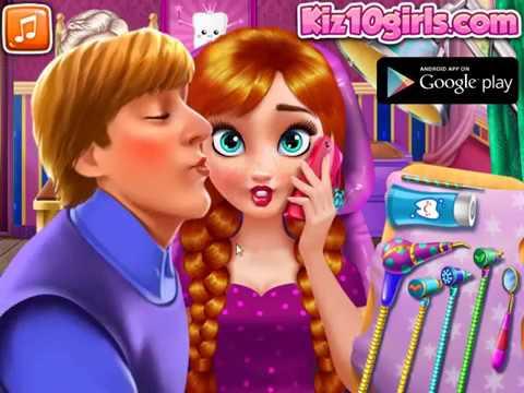 Princess Dentist and Makeup - Game Walkthrough  Kiz10.com & Kiz10girls.com