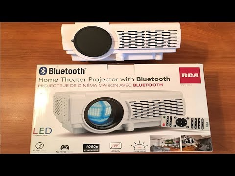 RCA Home Theater 1080p Projector with Bluetooth review 2000