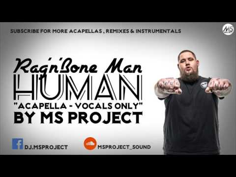 RagnBone Man  Human Acapella  Vocals Only