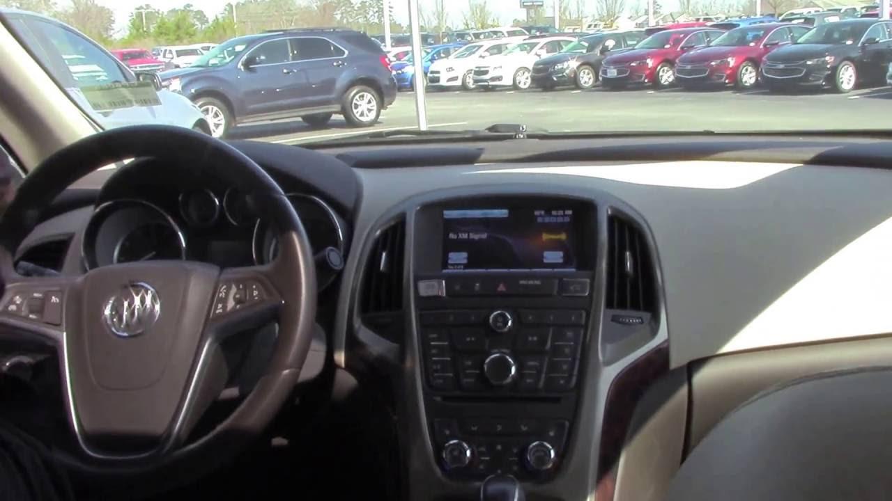 2015 Buick Verano Hubert Vester Chevrolet Wilson, NC