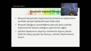 Sosyolojiye Giriş (1. ünite)