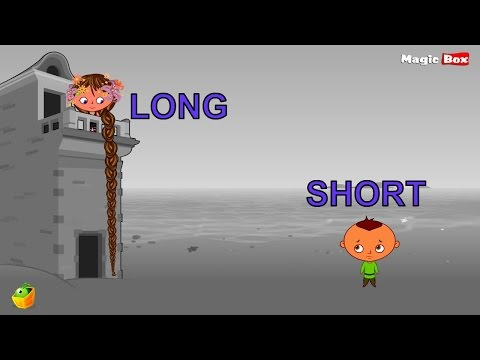 LEARN OPPOSITES PART 9 - 100 Opposite Words For Childrens - Animated Educational Video For Kids