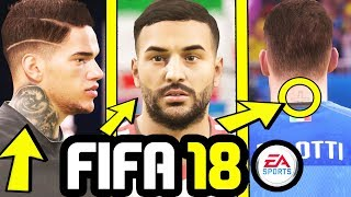 FIFA 18 NEW FACE ADDED! & NEW PLAYER TATTOOS! - FIFA 18 WORLD CUP