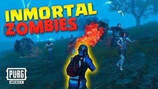 TRUCO para ser INMORTAL en MODO ZOMBIES 🔥 PUBG MOBILE 0.11 | Gameplay en Español