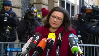 Zwischenergebnisse der Sondierungsgespräche von CDU und SPD