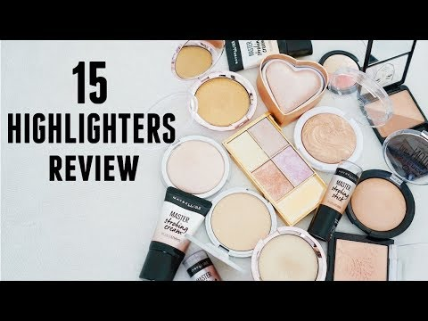 BEST & WORST Affordable Highlighters!! Bahasa Indonesia with ENG SUB