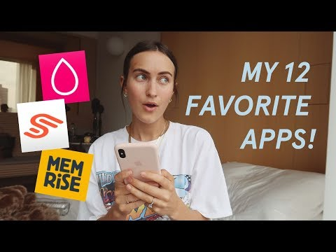 12 FAVORITE APPS - Health, Productivity, Aesthetic + MORE!! thumbnail