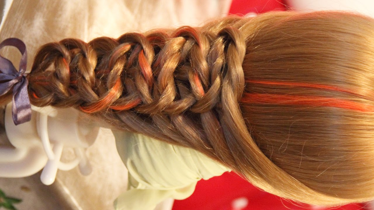 4 идеи причесок с использованием кос из резинок