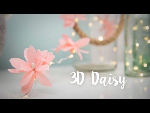 Flower Fairy Lights DIY! Bedroom Decor