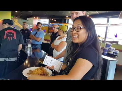 HuHot Mongolian Grill Buffet Denver 03/8/2016