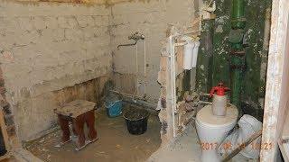видео Объединение ванной и туалета