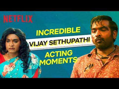 Vijay Sethupathi Incredible Acting Moments | Netflix India