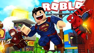 ROBLOX: SUPER HEROES SAVE the CITY - Koow