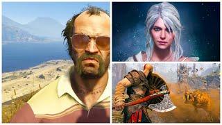 Секретная игра Rockstar - GTA 6? Ведьмак 4 и любовная история Цири. Новый слух о God of War 2