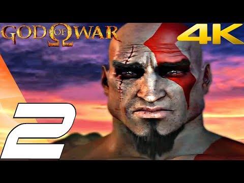 God of War 1 HD - Gameplay Walkthrough Part 2 - Gates of Athens [4K 60FPS]