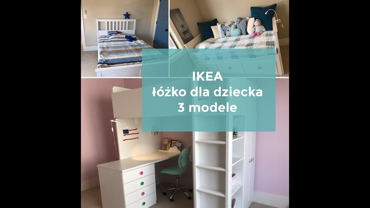 Ikea łóżko Dla Dziecka 3 Różne Modele