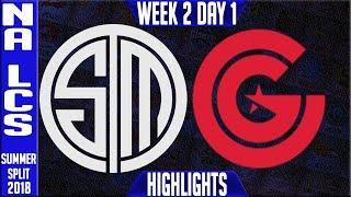Video TSM vs CG HIGHLIGHTS | NA LCS Summer 2018 Week 2 Day 1 | Team Solomid vs Clutch Gaming Highlights download MP3, 3GP, MP4, WEBM, AVI, FLV Juni 2018