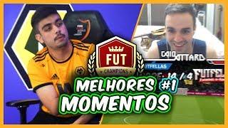 FIFA 20 | MELHORES MOMENTOS da WL em LIVE - Enfrentei um PRO dos WOLVES!