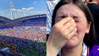 THE MOMENT BOLTON SCORED AN 88TH MINUTE WINNER TO STAY IN THE CHAMPIONSHIP