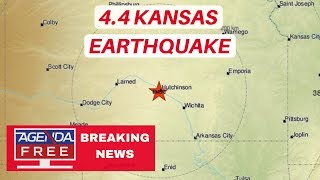 4.4 Kansas Earthquake Near Wichita - LIVE BREAKING NEWS COVERAGE - Agenda Free TV