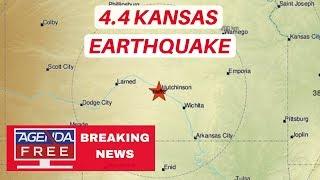 4.4 Kansas Earthquake Near Wichita - LIVE BREAKING NEWS COVERAGE - Agenda Free TV