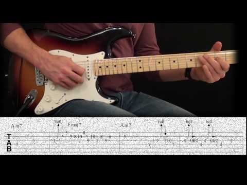 Steely Dan Pretzel Logic Guitar Lesson Licks 1 and 2