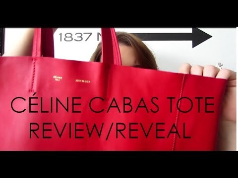 C��LINE CABAS TOTE REVIEW/REVEAL | MELSOLDERA - YouTube