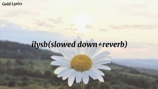 Lany - ilysb ( slowed + reverb) lyrics | Gold Lyrics