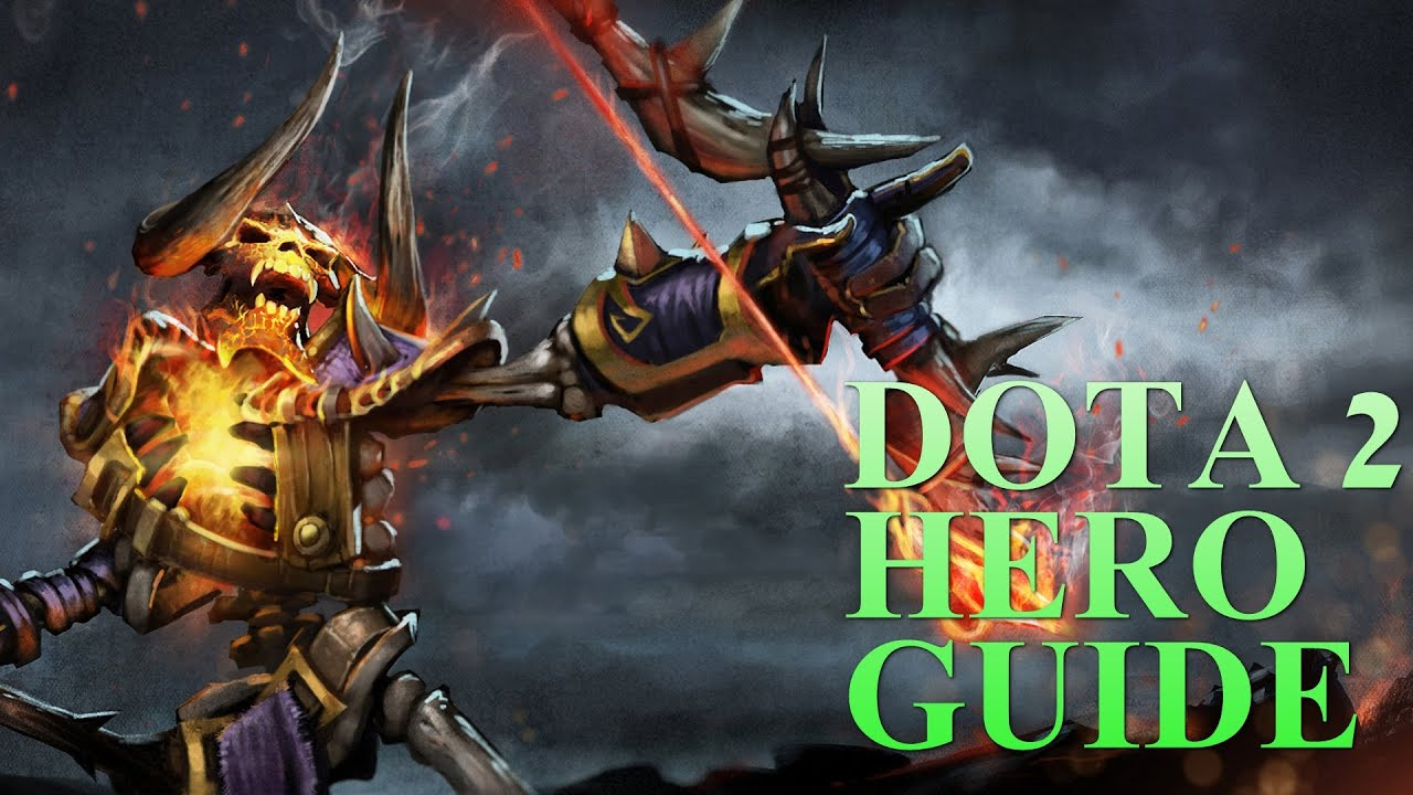 dota 2 hero guides clinkz youtube