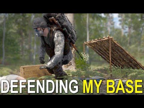 DEFENDING MY BASE - SCUM