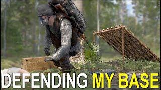 DEFENDING MY BASE - SCUM - Ep.3